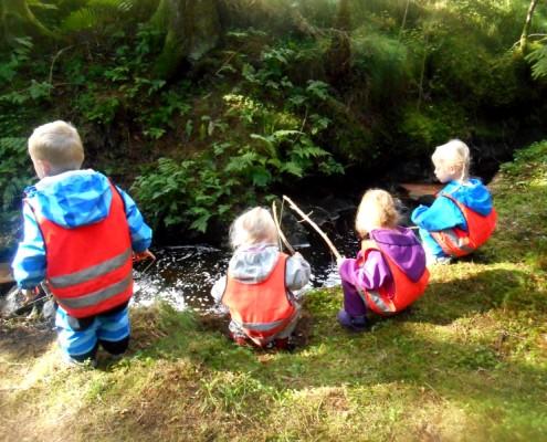 Fisking med Drømmehagen Barnehage