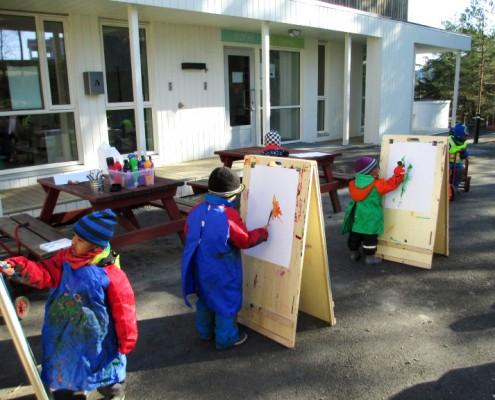 Kunst i Drømmehagen Barnehage