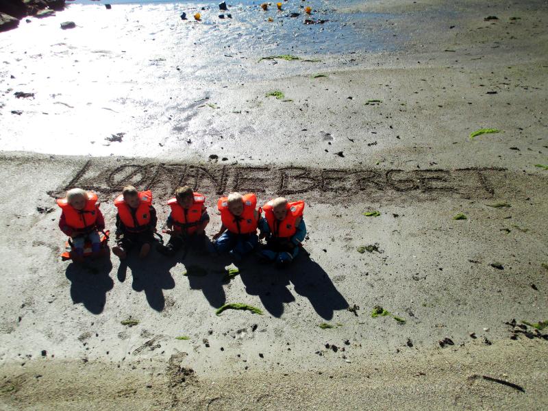 Strandtur med Drømmehagen barnehage